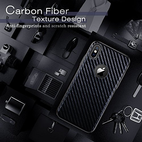 iPhone Xs Case, iPhone X Case LOHASIC Leather Carbon Fiber Slim & Thin Luxury PU Soft Flexible Anti- - http://coolthings.us