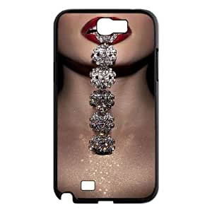 Customized Diamond Personalized Hard Back Cover Case for Samsung Galaxy Note2 N7100