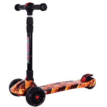 DH® Scooter, Patinete Plegable, Bicicleta para Principiantes ...