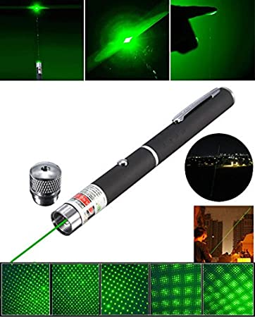 High Beam Laser 5MW Green Laser Pointer Pen with Star head