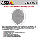 AXIS C2005 Network Ceiling Speaker connected with a single cable PoE
