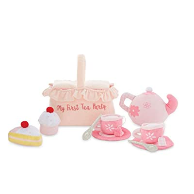 Mud Pie My First Tea Party Plush Set: Toys & Games