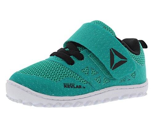 Reebok Crossfit Nano 6.0 Infant's Running Shoes Size US 8, Regular Width, Color Teal/Black