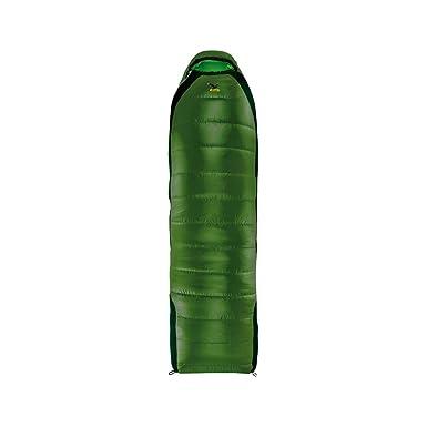SALEWA Spirit 3d Flex 2 Quattro Sb - Saco de dormir sintético verde Treetop Green Talla:LEFT: Amazon.es: Deportes y aire libre