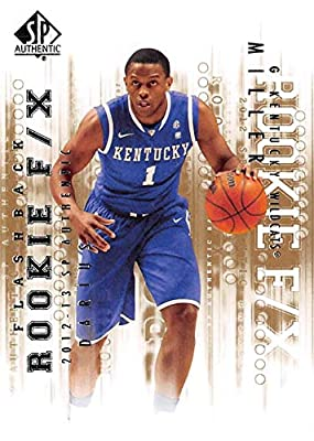 Darius Miller basketball card (Kentucky Wildcats) 2013 Upper Deck Rookie F/X Flashback #98