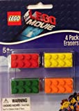 The LEGO Movie 4-Pack Erasers