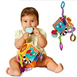 Meolin Soft Plush Baby Handbells Rattles Toy Developmental Interactive Toy