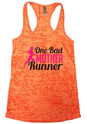 Womens Burnout Running Lovers Marathon Tank Top