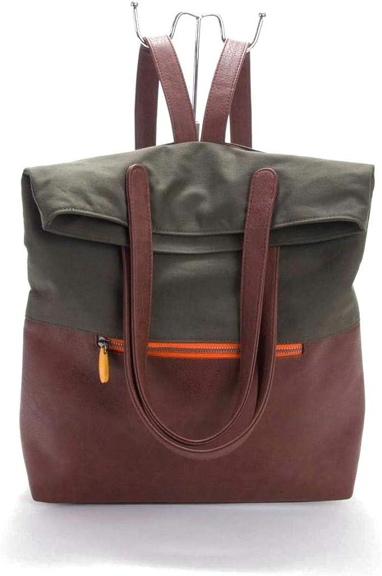 Convertible Leather Shoulder Bag Purse Backpack Rucksack Daypack Hobo Bag New N1