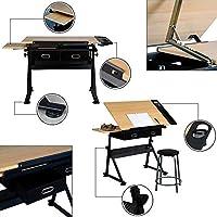 xgfhz XGF® Mesa De Dibujo, Mesa De Arquitecto Escritorio Ajustable ...