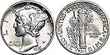 1916 D Mercury Dime Best Deals - 1916 - 1945 90% Silver Mercury Dimes BU (Mixed Dates and Mint Marks) .10c BU