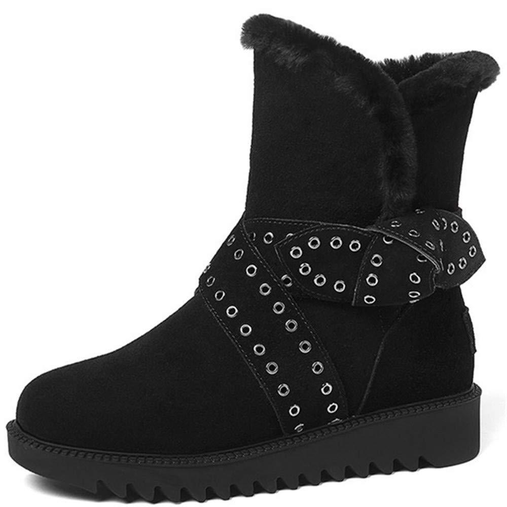 XPFXPFX Bewegung Freizeit Mode Trend Outdoor Stiefeletten Frauen Runde Kappe Halten Warme Winter Schnee Stiefel Komfortable Stiefel