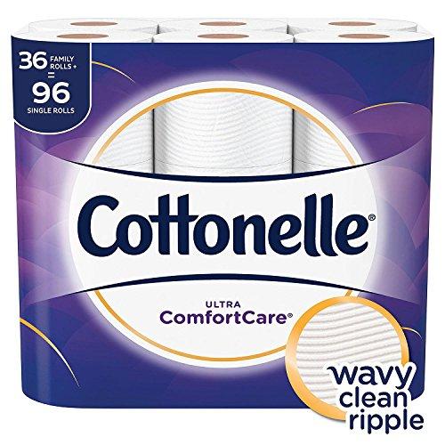 Cottonelle Ultra ComfortCare, 36 Family Rolls