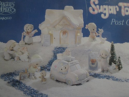 Sugar Town Post Office The Complete 8 piece collection set Precious Moments 456217