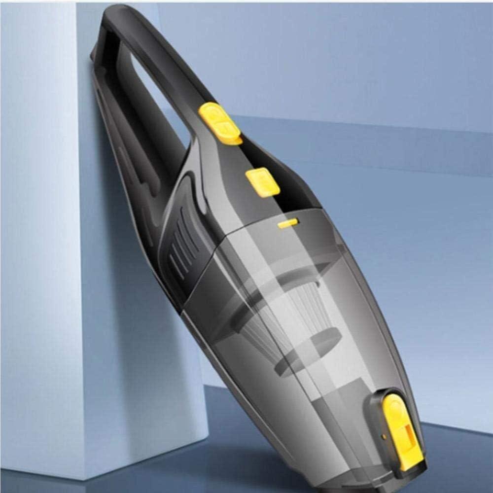 HL-TD Car Aspirateur 12V 120W Haute Puissance Faible Aspirateur À Main Portable Bruit Humide Multifonctionnel (Color : Rechargeable) Wired