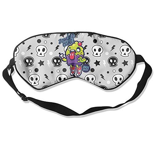 Ouidtk Zombie Cake Cartoon Sleep Mask/Sleeping (Zombie Masks Cheap)