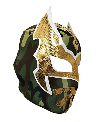 SIN CARA Youth Lucha Libre Wrestling Mask - KIDS Costume Wear - (Sin Cara Halloween Costumes)