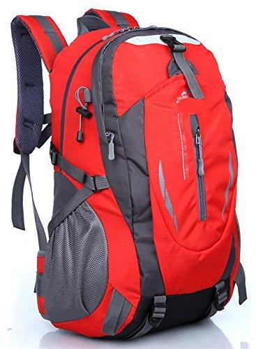 à et Imperméable et de Alpinisme Randonnée Femme Escalade 55L Nylon Dos de Sac éraflure en Protection pour 36 Sac Voyage Sport Trekking Rouge Homme Camping dqaq7wOt