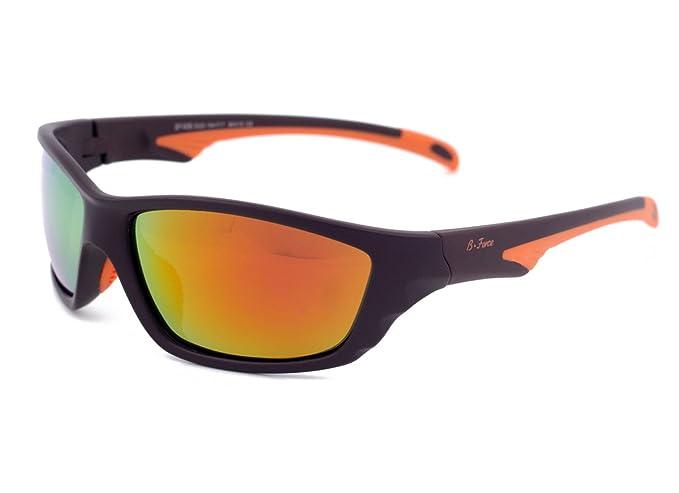 Gafas de sol polarizadas para deportes de playa, espejadas, lentes de iridio para hombres