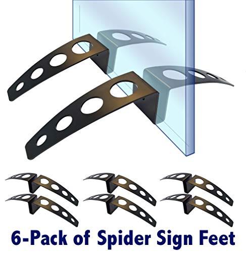 (Medium Spider Sign Feet (6-Pack))