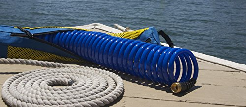 HoseCoil Storage System 60/' Hose With Nozzle