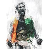 Conor McGregor UFC Featherweight Champion Poster