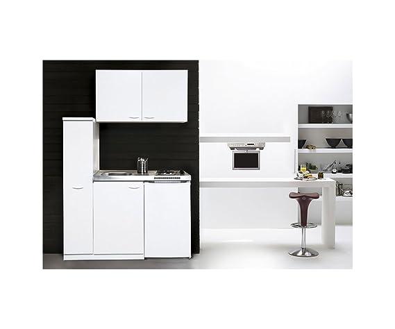 Miniküche Mit Kühlschrank 130 Cm : Respekta mk wosc miniküche cm weiß mit