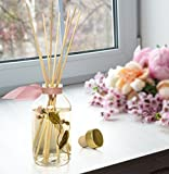 LOVSPA Japanese Peony & Blush Aromatherapy Reed Diffuser Gift Set   Made with Essential Oils & Real Botanicals! Elegant & Sophisticated Home Decor   Great Gift Idea
