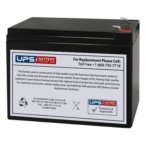 APC Back-UPS Pro 650 BP650 Compatible Replacement Battery by UPSBatteryCenter Fresh Stock