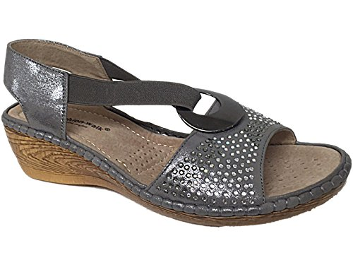 Cushion Walk ,  Mädchen Damen Sling Backs Silber