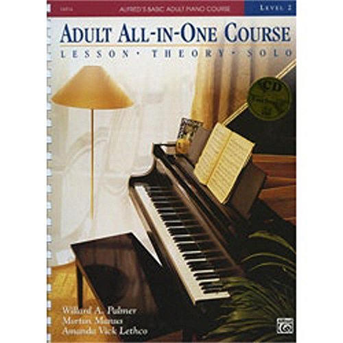 Alfred Alfred's Basic Adult All In One Piano Course Level 2 (Book and CD)
