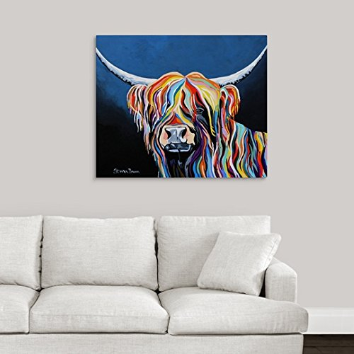 greatBIGcanvas Gallery-Wrapped Canvas entitled Harris McCoo by Steven Brown 36''x30''
