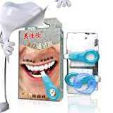 Cleansing Diet No Food - Teeth Cleaning Kit Professional Tools Cleaning Stains Smoke Teeth Tools Nano-Technology Gel Strips Teeth Whitening Yiitay