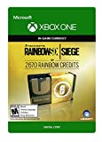 Tom Clancy's Rainbow Six Siege Currency pack 2670 Rainbow credits - Xbox One [Digital Code]