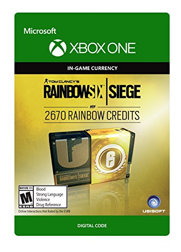 Tom Clancy's Rainbow Six Siege Currency pack 2670 - Video Games