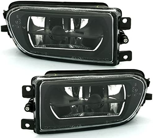Ad Tuning Depo Nebelscheinwerfer Set Halogen Schwarz Facelift Optik Nsw Fog Auto