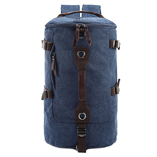 Business Backpack Canvas Outdoor Multi Blue Laidaye Travel Leisure Shoulder Mountaineering purpose IXFwqAR