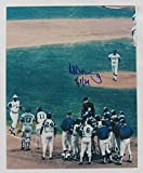 Signed Al Downing Picture - 8x10 w - Autographed MLB Photos