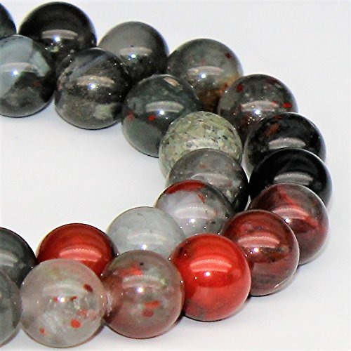 Africa Red Jasper Natural Gemstone Loose Beads 10mm 37 Beads Per 15.5 Strand