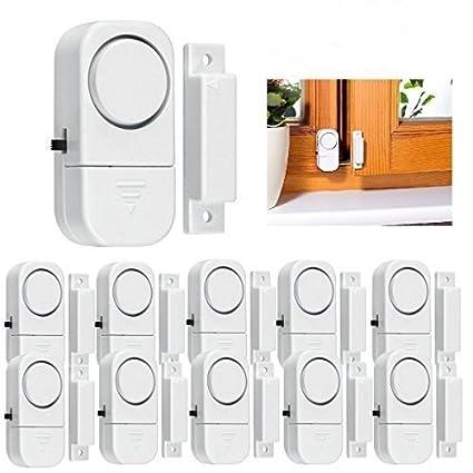 Amazon.com : 10 Pack Wireless Alarm DIY Kit Wireless Home ...