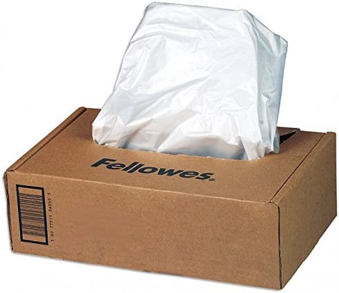 2250 Series Shredders Fellowes Powershred Waste Bags for 125//225