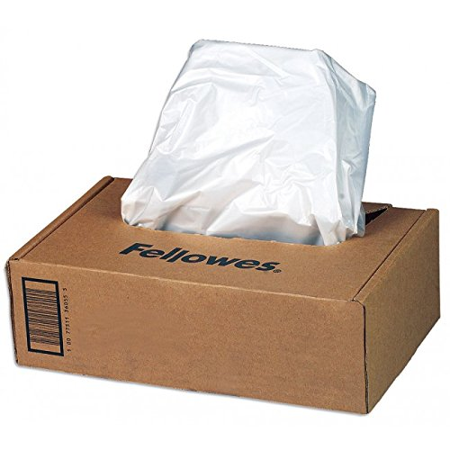 Fellowes Powershred Waste Bags for 125/225 / 2250 Series Shredders ()