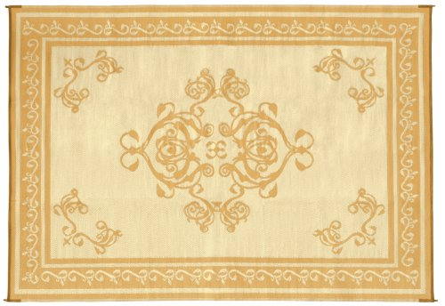 Faulkner 48464 Monte Carlo 8 by 20-Feet Beige Multi-Purpose Mat