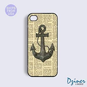 iPhone 6 Plus Tough Case - 5.5 inch model -Newspaper Anchor Pattern iPhone Cover by mcsharks