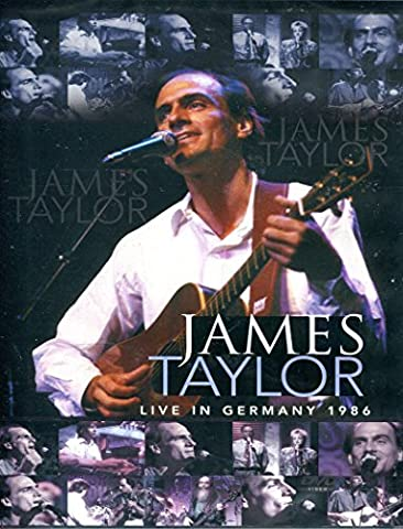 James Taylor : Live in Germany 1986 ~ Dvd [Import] Ntsc | Region 0 | James Taylor (James Taylor Concert Dvd)
