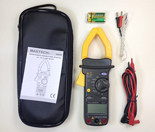 Mastech MS2101 AC/DC Digital Clamp Meter with 4000 Counts by Mastech