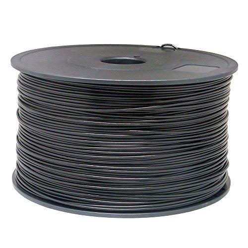 Sienoc 1,75 mm 3D Printer imprimeur ABS Filament 1KG Bobine de fil plastique (Blanc)