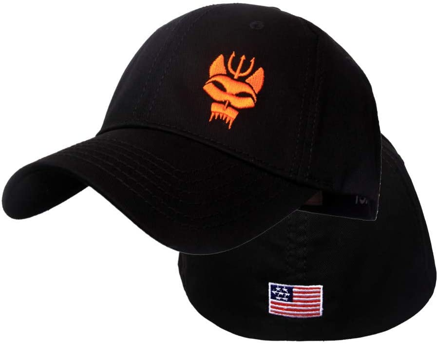 DAIDAIBQM Men Women Baseball Cap Running Cap Hat Tactical Hat Punisher Team Cotton Hat Adjusted