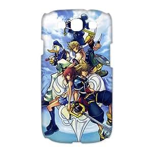 Samsung Galaxy S3 I9300(3D) Phone Case for Kingdom Hearts pattern design
