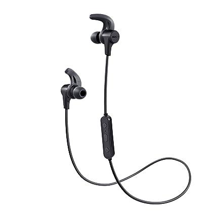 half off great deals exclusive shoes AUKEY Cuffie Bluetooth Sport Bassi Potenziati, Auricolari Wireless in Ear  con 8 Ore di Tempo di Utilizzo, Resistente al Sudore, Microfono  Incorporato, ...